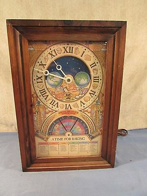 Vintage Nestle TollHouse 50th Anniversary A Time For Baking Clock *Works*
