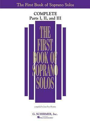 The First Book of Soprano Solos: Complete, Parts 1-3 by Paperback Book (English)