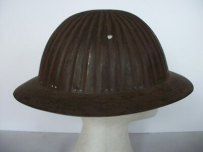 "Ww1 British Private Purchase ""portuguese"" Pattern Helmet Ribbed Helmet"