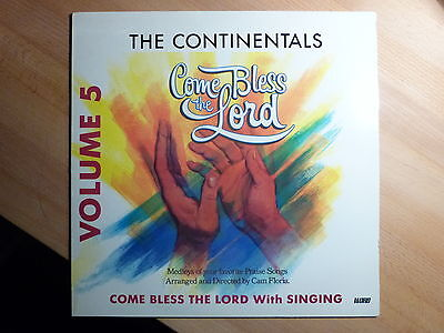 "12"" LP - Xian - Come Bless the Lord Vol. 5 - The Continentals - Word"