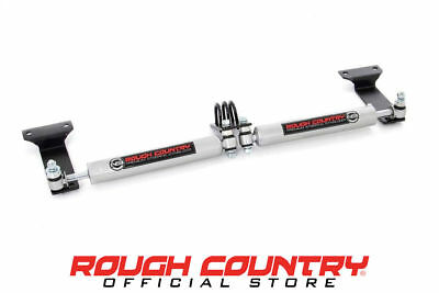 """N3 Dual Steering Stabilizer for 2-8"""" Lifts - 99-04 Ford F350 Super Duty 4WD"""