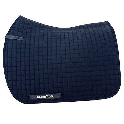 22X21 Back On Track Horse Thermal Warmth Therapeutic Dressage Saddle Pad Blue