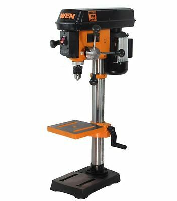 10 in. Swing Variable Speed Laser Centering Drill Press Woodworking Shop Tools