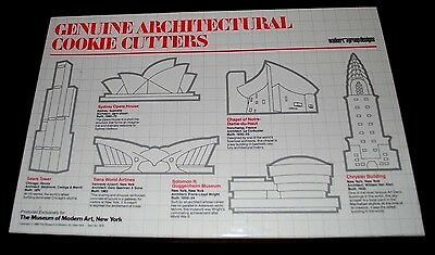 Architectural Cookie Cutters ~ Sear Tower, Chrysler Building, Guggenheim Museum