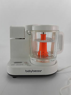 Baby Brezza BRZ00131S - Glass Food Maker - Large 4 Cup Capacity - White