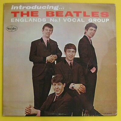 Beatles Introducing The Beatles.1964 Vj.mono.brackets Label.cover Vg++/disc Vg+