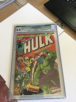 Incredible Hulk # 181 Cgc 8.0  Green Label