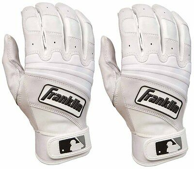 Franklin The Natural II Adult Batting Gloves - Pearl/White