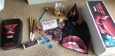 FOX 2016 THE ROCKY HORROR PICTURE SHOW Promo Kit T-Shirt Song Book Party KIT