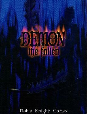 White Wolf Demon - The Fallen Demon - The Fallen, Introductory Pamphlet Zip VG+