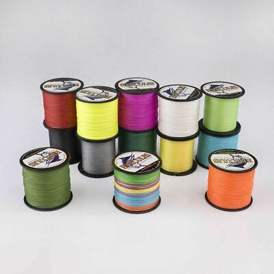 100M 300M 6LB-100LB Color 100%PE Spectra Super Strong Dyneema Braid Fishing Line