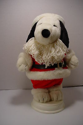 Snoopy Peanuts Christmas Animated Figure