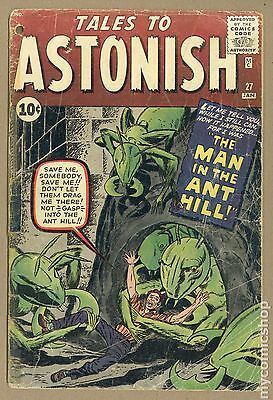 Tales to Astonish (1959-1968 1st Series) #27 FR 1.0