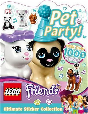 Pet Party! (Lego: Friends Ultimate Sticker Collection)