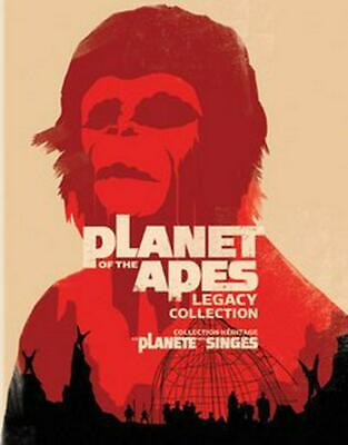 Planet of the Apes Film Collection - Blu-Ray Region 1 Free Shipping!