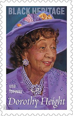 US 5170 Black Heritage Dorothy Height forever single MNH 2017 after Feb 15