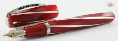 Visconti Special Edition Divina Ferrari Red Fountain Pen Magnificent And Elegant