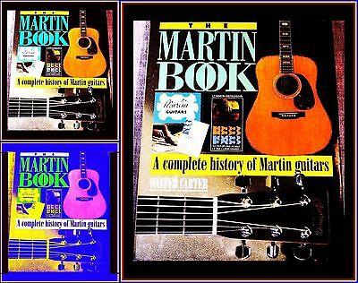 MARTIN GUITAR WELT MARKEN MODELLE TONY BACON Book FARB GALLERY HISTORY VINTAGE
