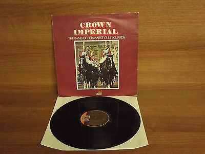 The Band of Her Majesty's Life Guards : Crown Imperial : Vinyl Album : SLS 50161