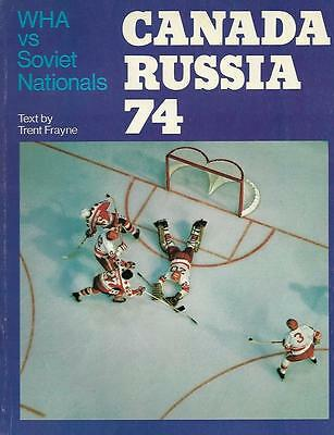 Canada Wha - Ussr Russia Summit Series '74 Official Program Review #2 English