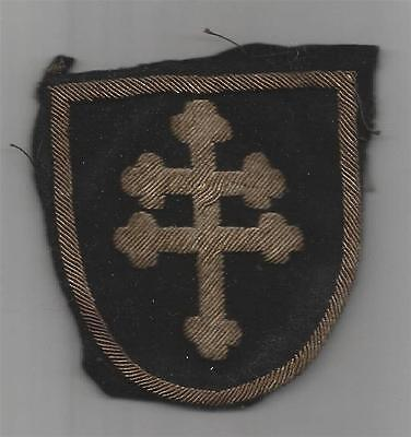 WW 1 US Army 79th Division French Made Bullion Patch Inv# TH908