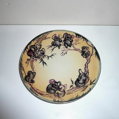 Vintage Rare Brownie Downing Wall Hanging Plate