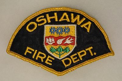 Canadian Oshawa Fire Department Patch