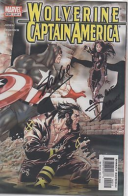 STAN LEE personally signed WOLVERINE / CAPTAIN AMERICA Marvel comic creator