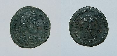 Ancient Rome :  Valens  364-378 A.d.  - Ae3 - Victory - Vf