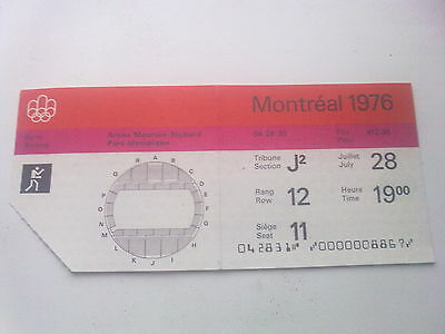 Ticket Olympic Games MONTREAL 28.07.1976 - BOXING (19:00)