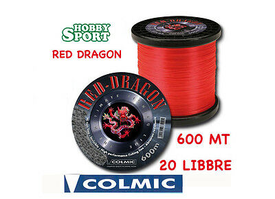 Filo Nylon Traina Big Game 20 Lb Red Dragon Colmic