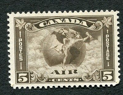 Canada #C2 5 Cent Olive Brown Air Mail MH