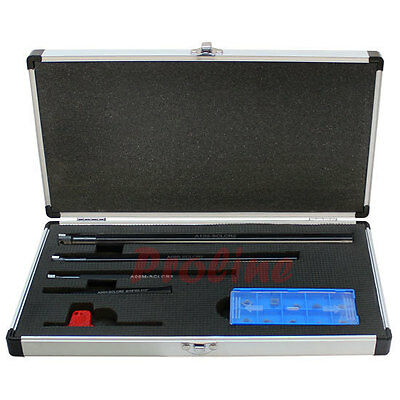 5/16''-5/8'' 4 PC SCLCR Indexable Boring Bar Set Lathe Tooling CCMT Inserts