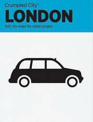 London Crumpled City Map, Designed by Emmanuele Pizzolorusso | Map Book | 978889