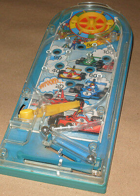 Vintage 1970s Bagatelle Formula One Racing Cars Game - Made In West Germany