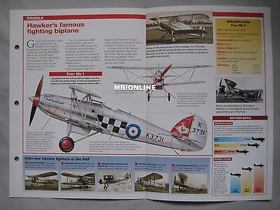 Aircraft of the World - Hawker Fury