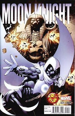 Moon Knight #1 Bazinga Comics Variant All New All Different Marvel 2016