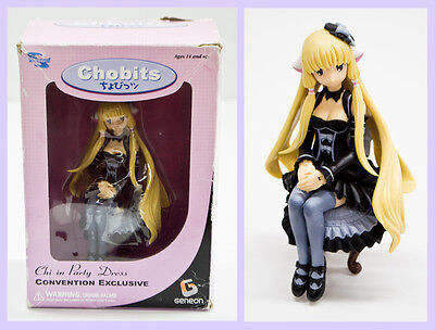 "2005 Geneon Chobits ""Chi in Party Dress"" Dark Chi Convention Exclusive Statue"