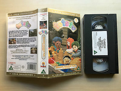 Tots Tv - Seaside Holiday Fun - Gold Collection - Vhs Video