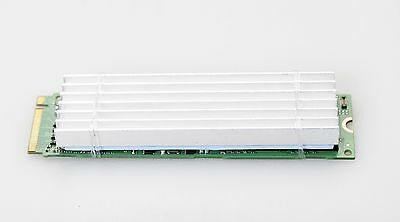 Aluminium Heat Sink for the M.2 2280 NVMe or SATA SSD 6mm thickness
