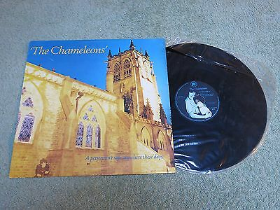 THE CHAMELEONS A person isn't safe anywhere these days Portuguese MVM RECORDS 12