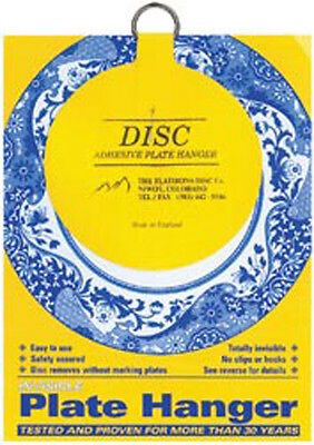 """For Plates Up To 12"""" Diameter - Invisible Plate Hanger 4"""""""