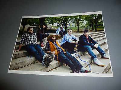 The Strumbellas signiert signed autograph Autogramm auf 20x28 Foto in person