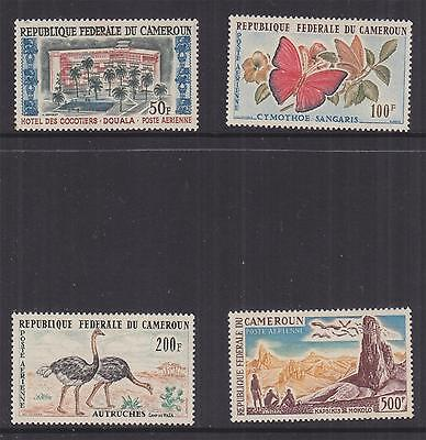 CAMEROON, 1962 Air set of 4, lhm.