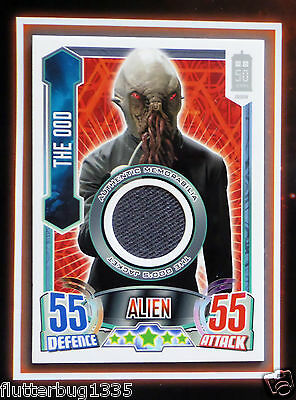 Dr Doctor Who ALIEN ATTAX 50th Anniversary THE OOD Costume Card (0109/3100) New