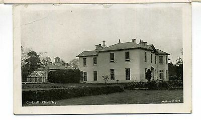 Shropshire Claverley Chyknell Country House  Wilding #1608 Pu 1918