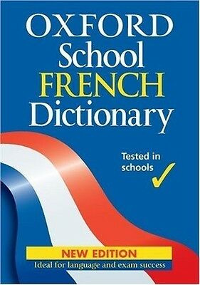 Oxford School French Dictionary, 0199113130, New Book