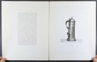Norfolk County Silver - Antique English Sterling - 1895, 1897 Scholarly Studies