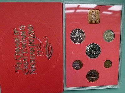 1973 Royal Mint 6 coin Proof setonly Light Toning