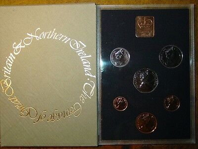 1976 Royal Mint 7 coin Proof set